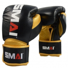 SMAI Mexicano Elite boksa cimdi melni/zelta