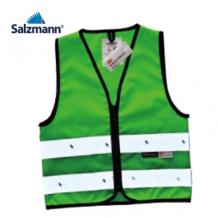 Salzmann atstarojošā veste bērniem zaļa (W)