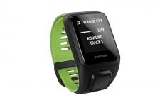 TomTom Runner 3 Cardio+Music GPS pulsometrs melns/zaļš (1RKM.001.00) (X)