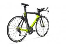 Cervelo P3 Ultegra 8000 triatlona velosipēds melns/elektrozaļš (2018.gada modelis)