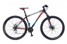 """Carratt Orione 29"""" - 21V velosipēds melns/sarkans"""