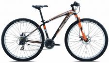 Carratt Taurus 29 21v velosipēds melns/oranžs