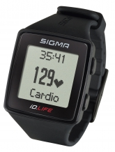 Sigma iD.LIFE pulsometrs melns (24600)