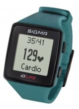 Sigma iD.LIFE pulsometrs zilganzaļš (24610)