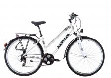Kenzel Trekking Stroller SF sieviešu velosipēds balts
