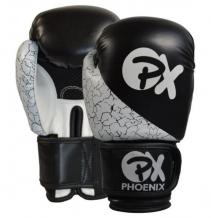 Phoenix Strike PU boksa cimdi melni/balti