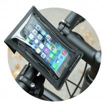 SKS Smartboy telefona turētājs uz stūres melns (11234)