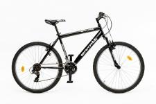 Carratt 8250 26 21V velosipēds melns/zaļš