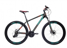 Kenzel Shade Disc 29 MTB velosipēds mlens/sarkans/zaļš