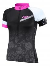 Force Rose Ladies velo krekls melns/rozā